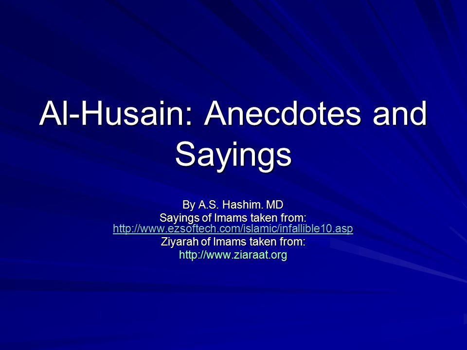 Ashuraa Zainab and Zainul Abideen By A.S. Hashim. MD