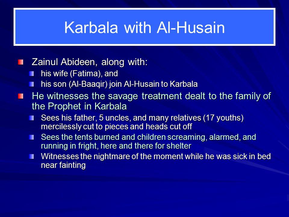To Keep on Karbala in Mind 1.