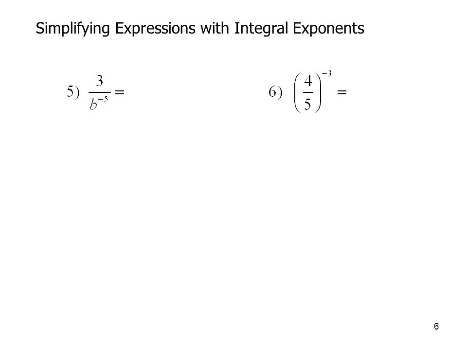 17 Fractional (Rational) Exponents You can evaluate expressions involving fractional exponents using the calculator.