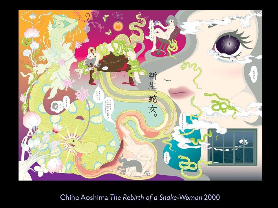 Chiho Aoshima The Rebirth of a Snake-Woman 2000