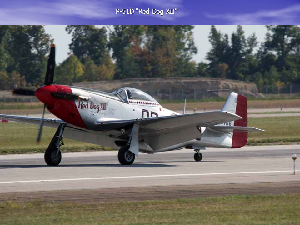 """P-51D """"Red Dog XII"""" P-51D """"Red Dog XII"""""""