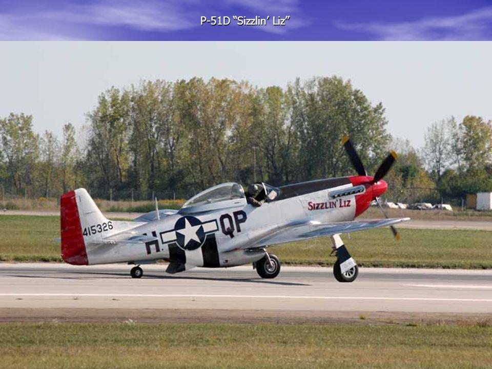 "P-51D ""Sizzlin' Liz"" P-51D ""Sizzlin' Liz"""