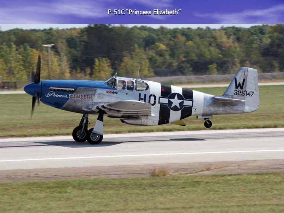 "P-51C ""Princess Elizabeth"" P-51C ""Princess Elizabeth"""