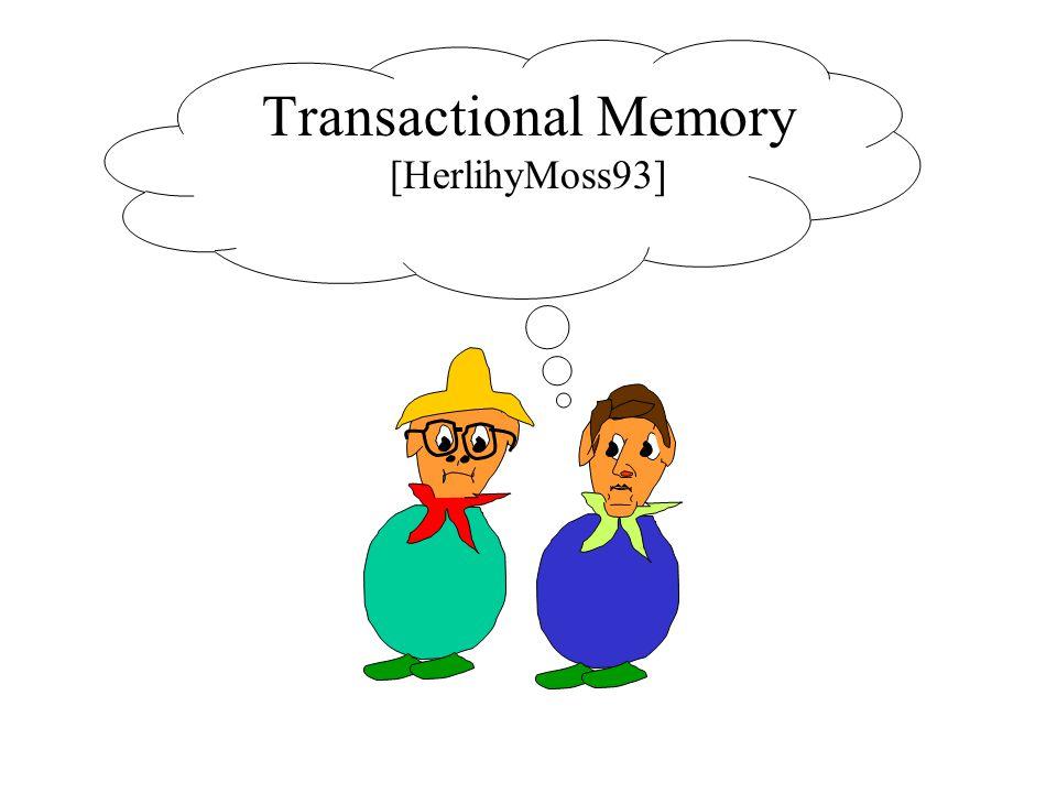 Transactional Memory [HerlihyMoss93]