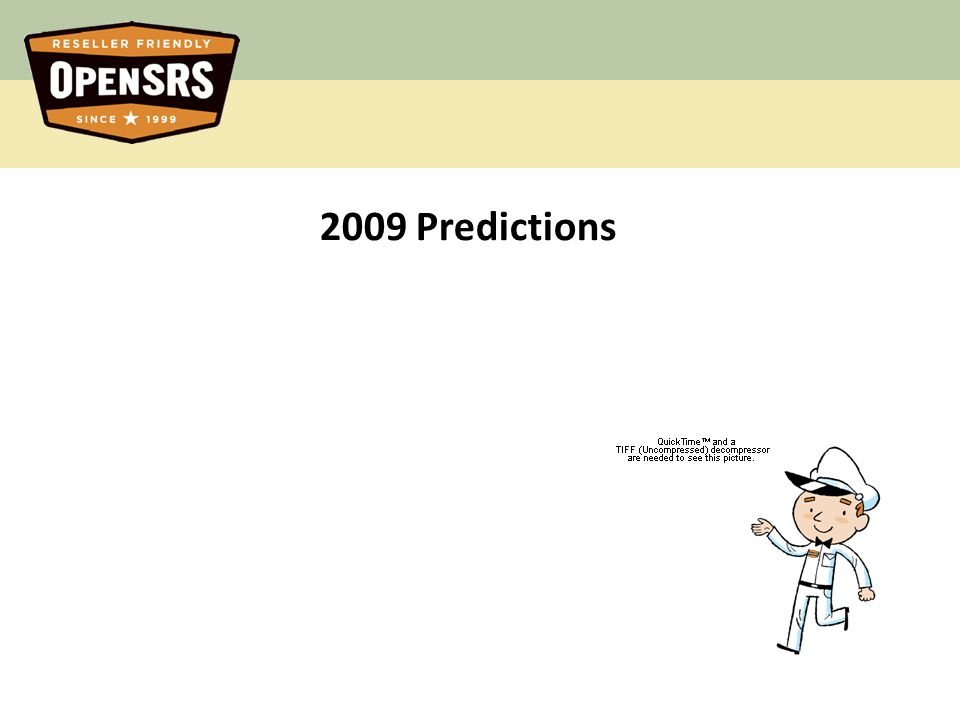 11 2009 Predictions