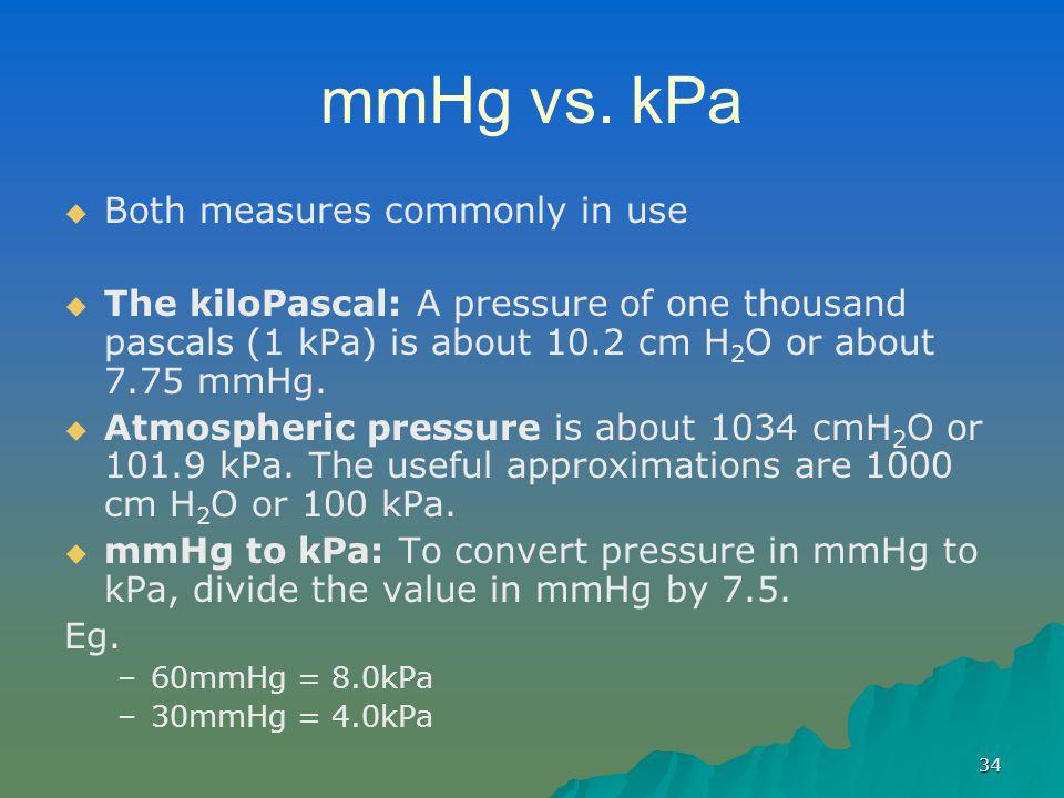 34 mmHg vs.