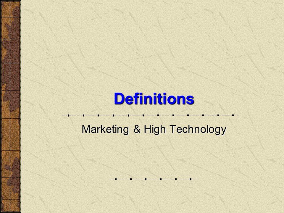26.3.2004 High-tech Marketing - Arto Rajala (HSE) 34 Four Marketing Frameworks Deal Driven Niche Marketing Mass Marketing 1 on 1 Marketing Source: Moore (1998)