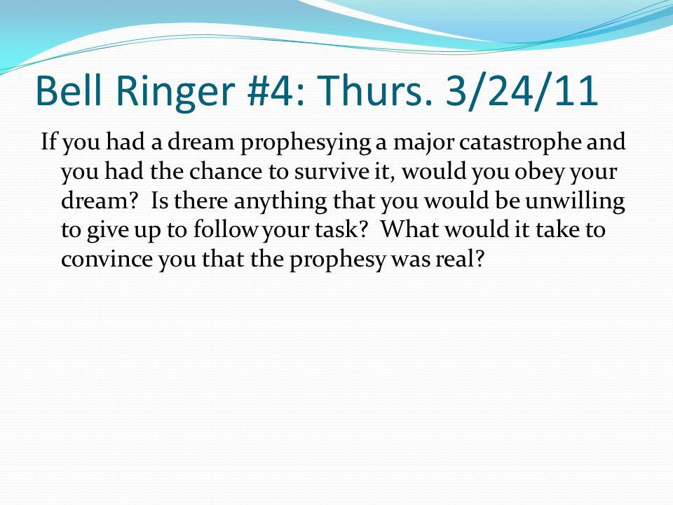 Bell Ringer #5: Mon.