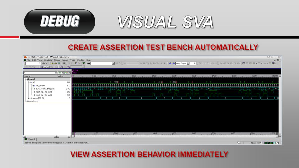 CREATE ASSERTION TEST BENCH AUTOMATICALLY VIEW ASSERTION BEHAVIOR IMMEDIATELY