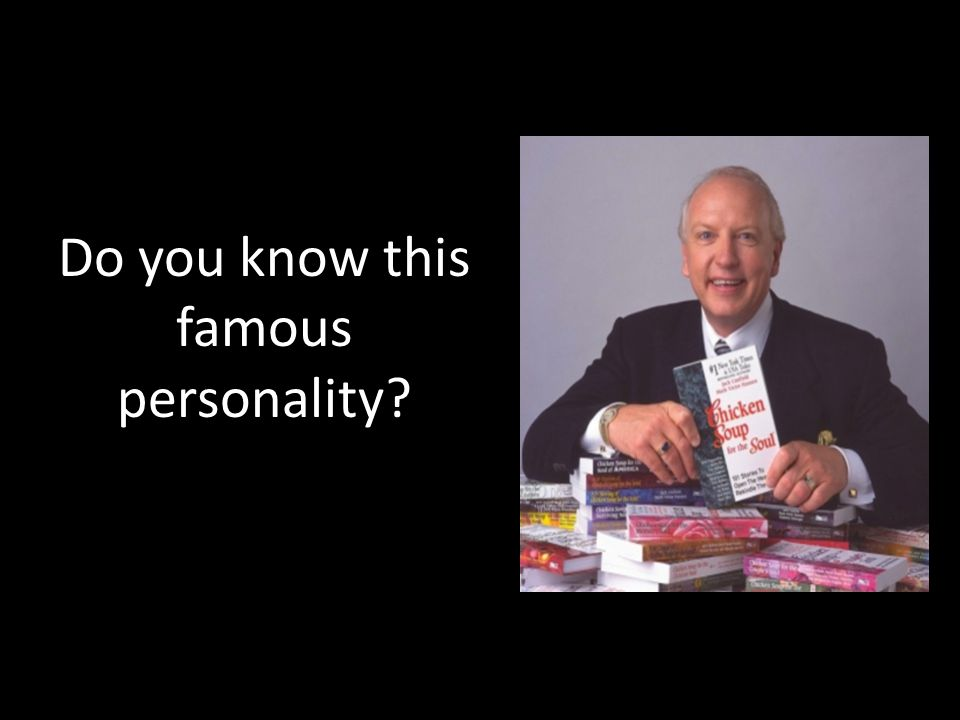 Do you know this famous personality