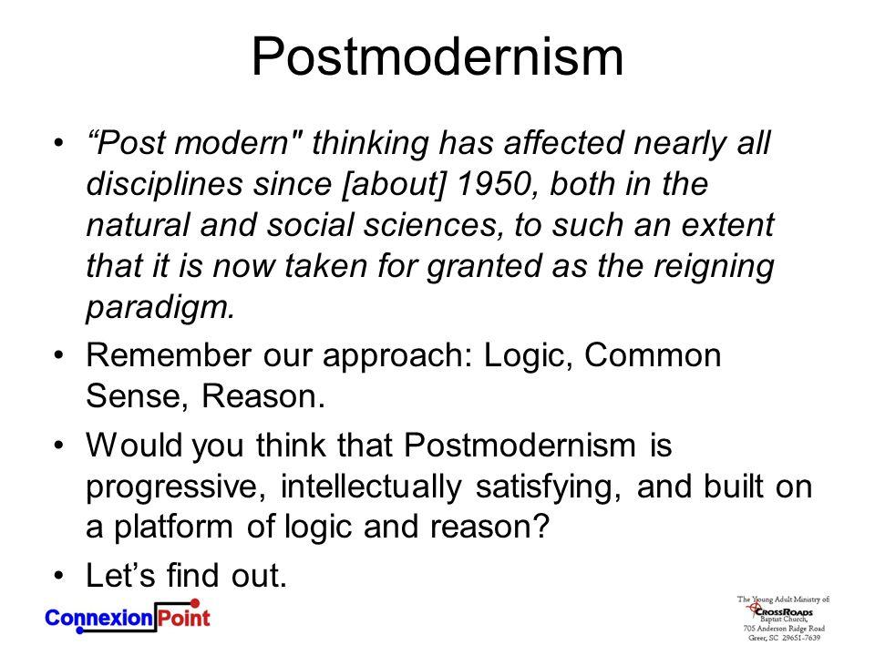 "Postmodernism ""Post modern"