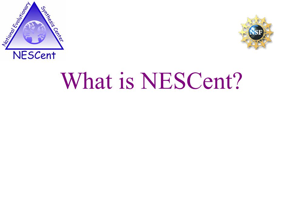 What is NESCent?