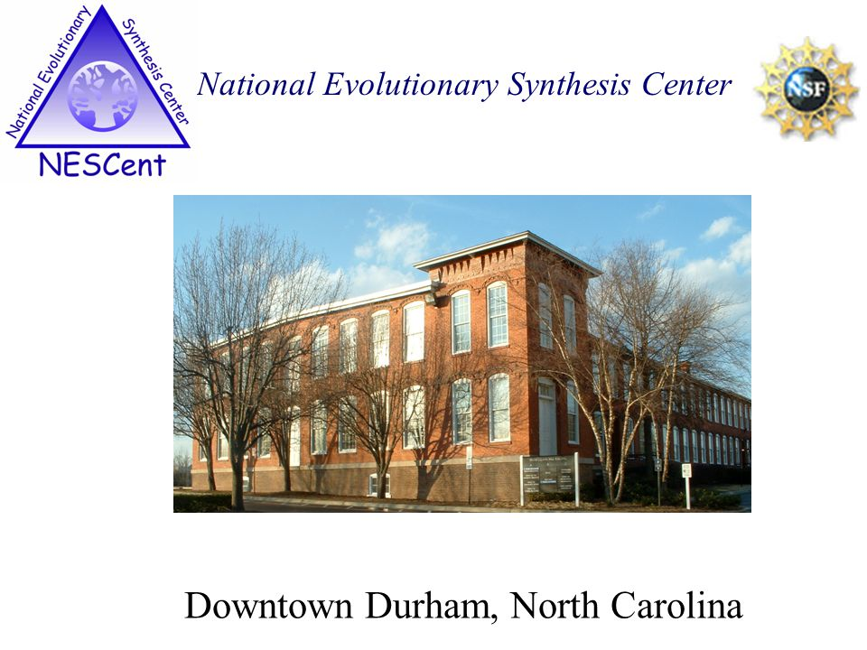 Downtown Durham, North Carolina National Evolutionary Synthesis Center