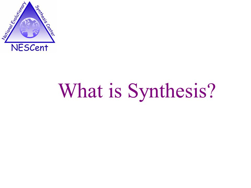 What is Synthesis?