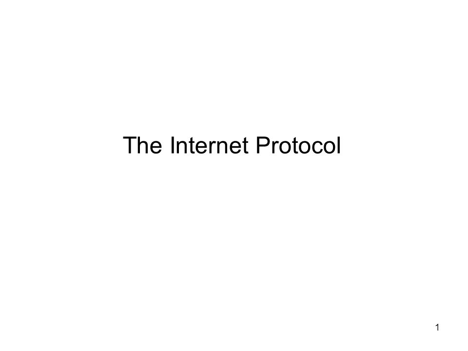 42 IP Field: Version Version field –Indicates format of IP header –Declares version of protocol to which datagram belongs –Allows development of new protocols while network is operational What is the version of the IP packet on your screen?