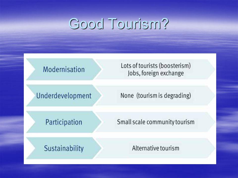 Good Tourism