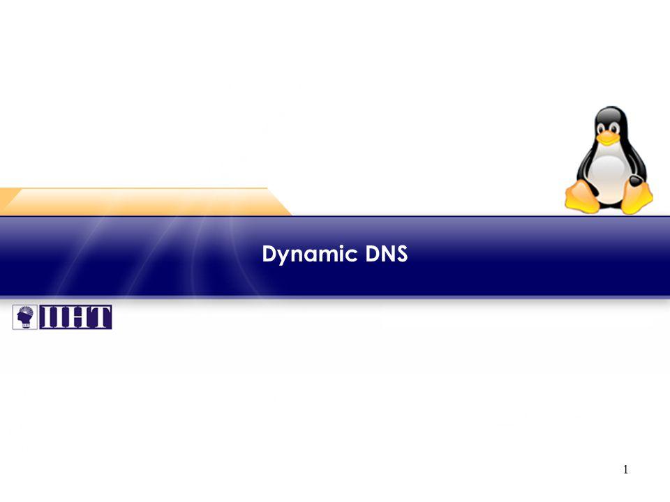 1 Dynamic DNS