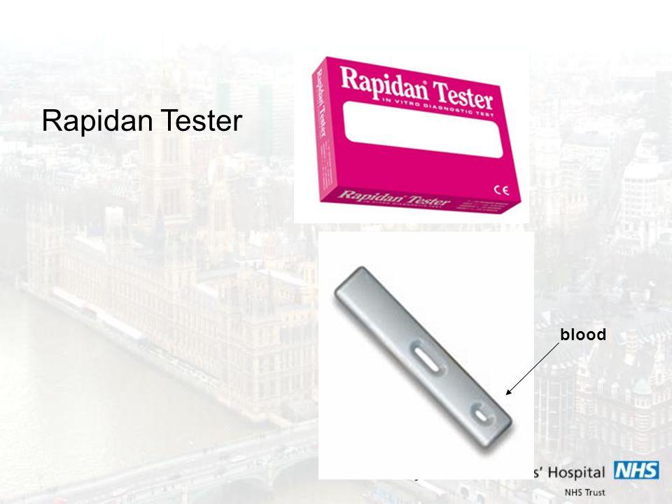 Rapidan Tester blood