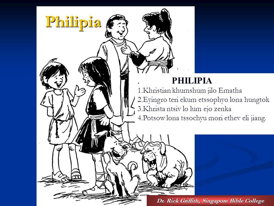 Dr.Rick Griffith, Singapore Bible College Philipia..