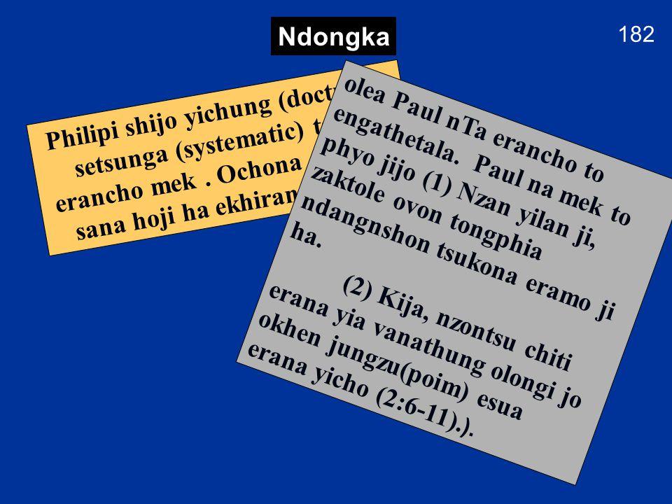 182 Macidonea etsa yakchia Paul na missionary yenta enio tolo (2nd journey) Philipi ekhumkho ji soyingcho.