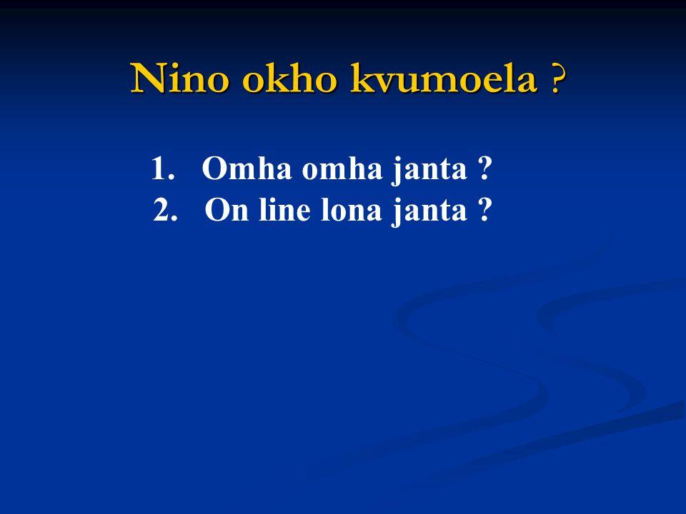 186f Mhom eyienchan oman 2:14-16 Ochang na ezekata elhi tssoa enzanchia vancho sana onte elhi man ji tajo liv.