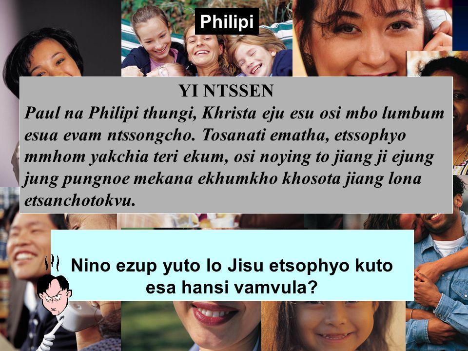 YITONG 183-184 Christian ekum Pastoral Ematha Christa oso lo kyong kumo ji Lantaro tsotimori Khrista ejyu esu ekum lo evam