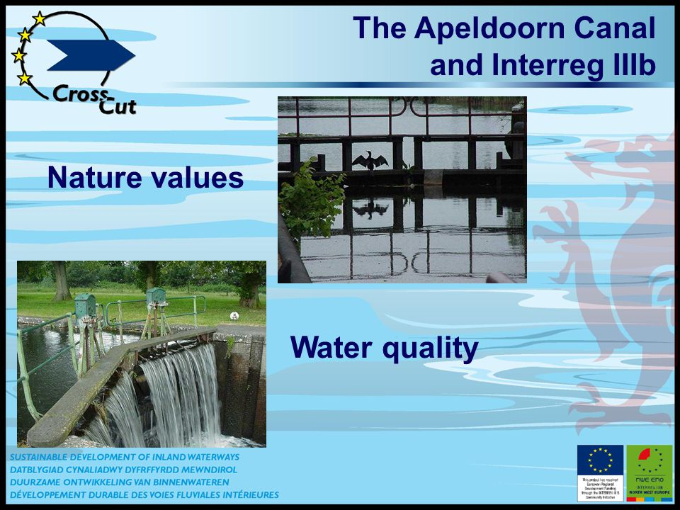 The Apeldoorn Canal and Interreg IIIb Nature values Water quality
