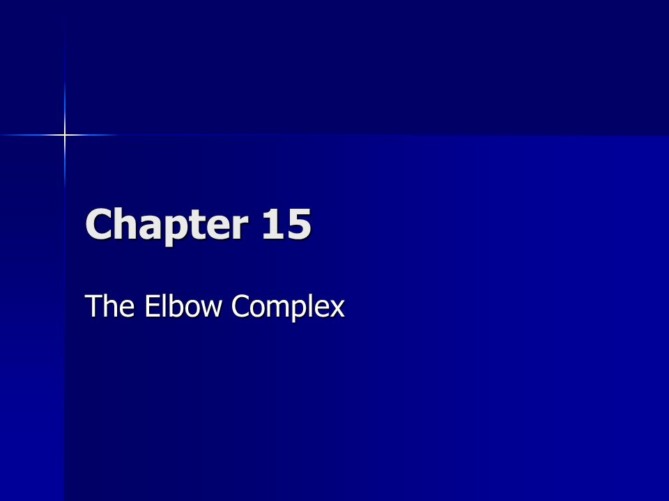 Overview The elbow complex is an inherently strong and stable compound joint, which is enclosed within the capsule of the cubital articulation.