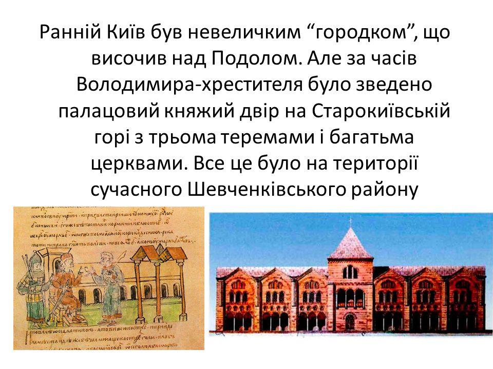 Першою кам яною церквою давнього Києва була Десятинна.