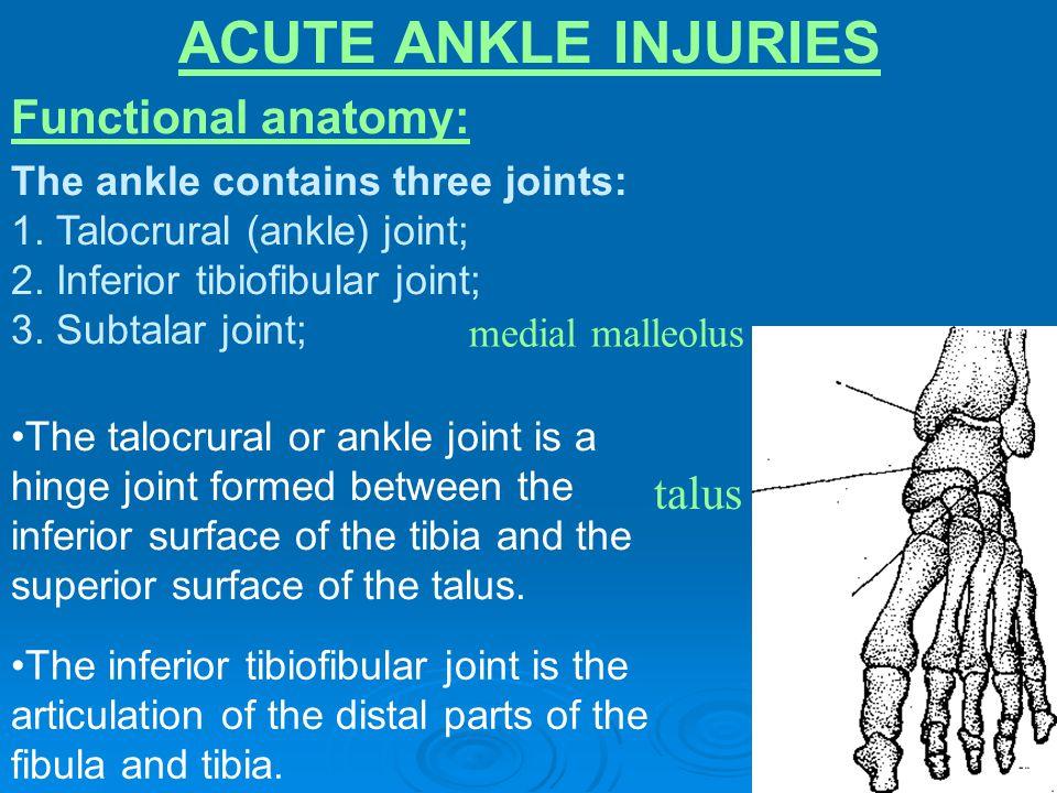 FIGURE 1.Grading of sprains.