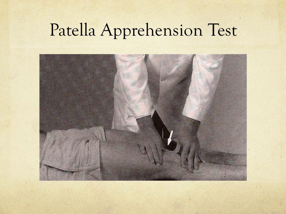 Patella Apprehension Test