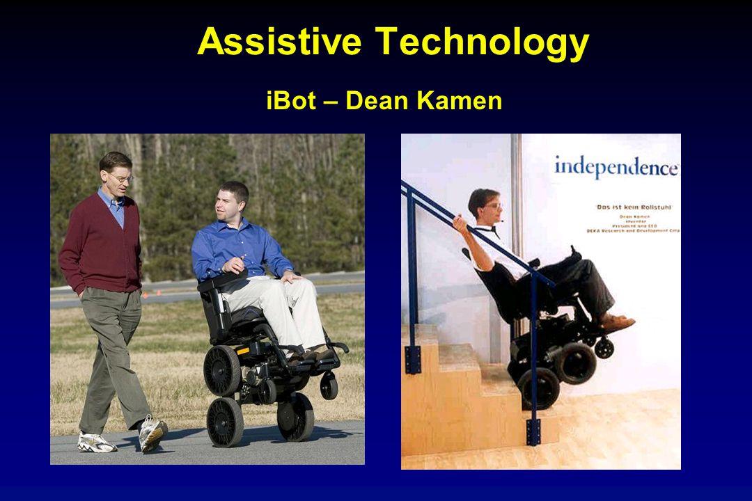 Assistive Technology iBot – Dean Kamen