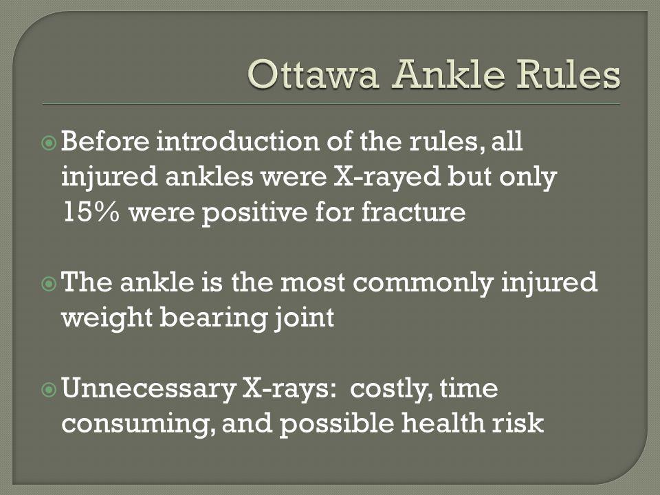 MAISONNEUVE FRACTURE -Proximal half of fibula -Strong eversion -The more proximal the fracture, the more unstable the joint