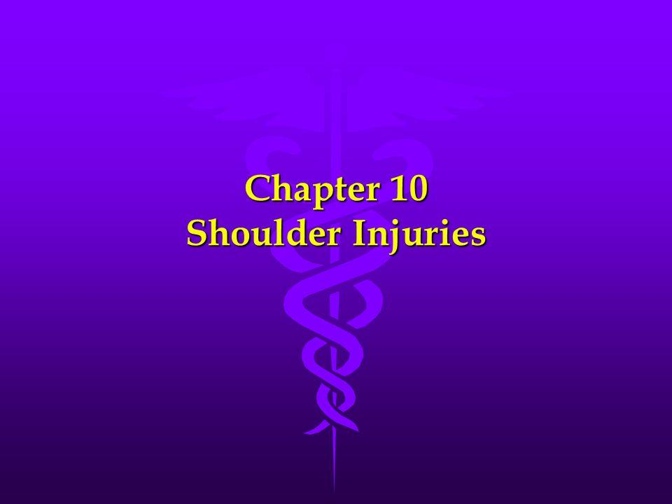 Chapter 10 Shoulder Injuries