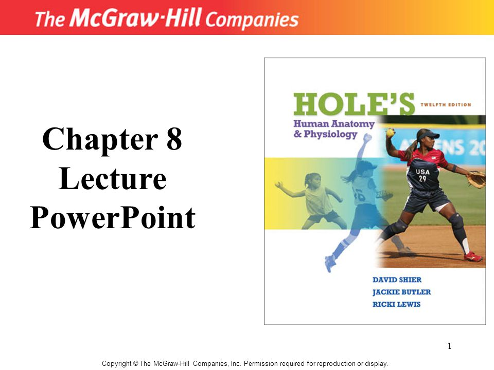 1 Copyright © The McGraw-Hill Companies, Inc.Permission required for reproduction or display.