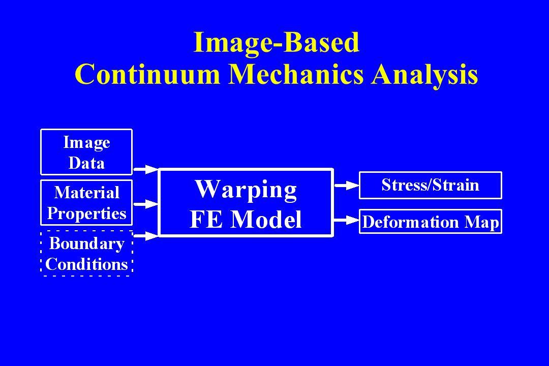 Image-Based Continuum Mechanics Analysis