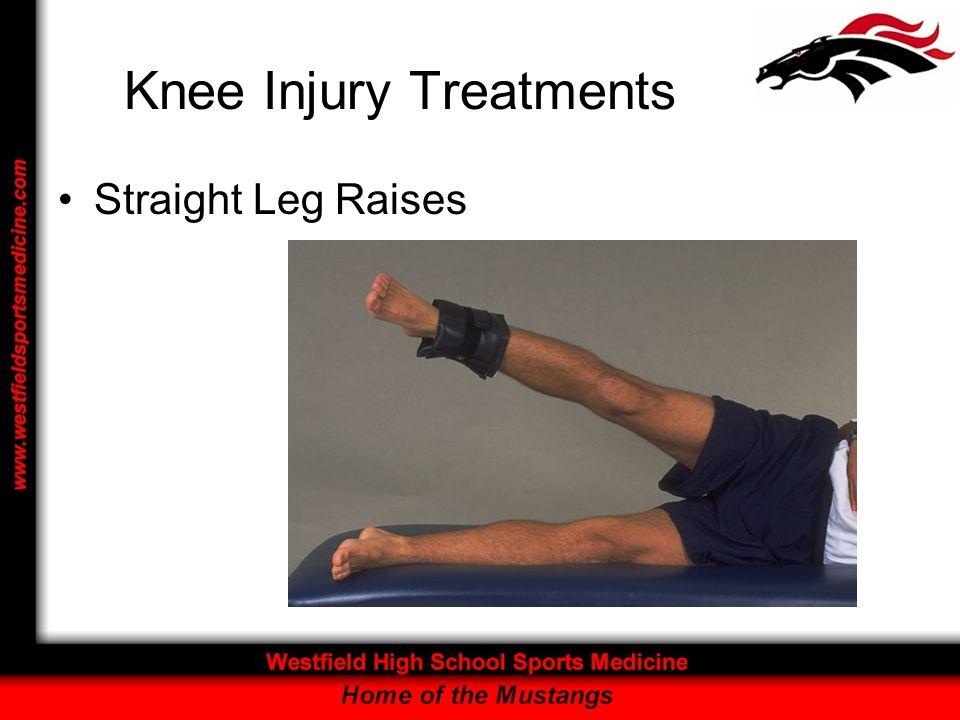 Knee Injury Treatments Straight Leg Raises