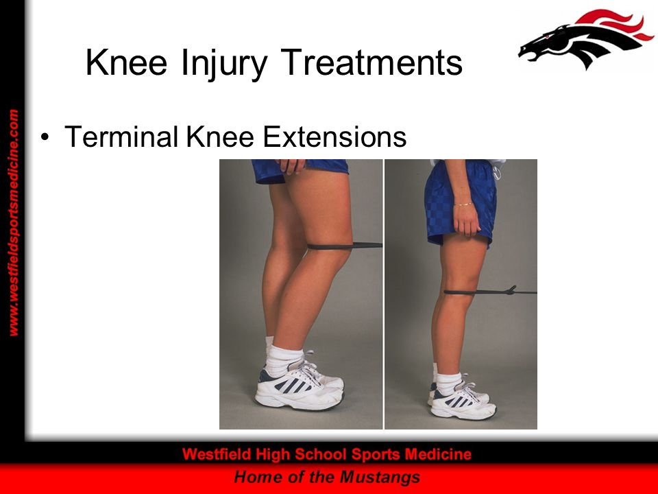 Knee Injury Treatments Terminal Knee Extensions