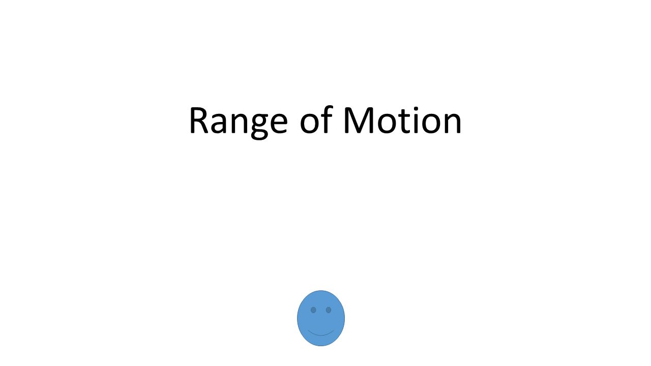 Range of Motion