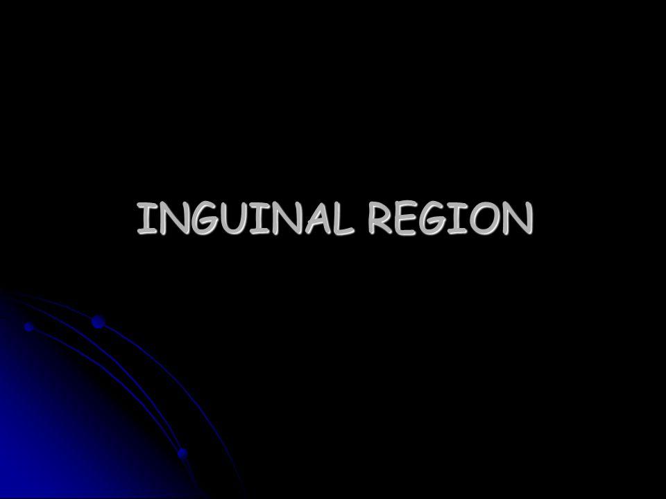 INGUINAL REGION