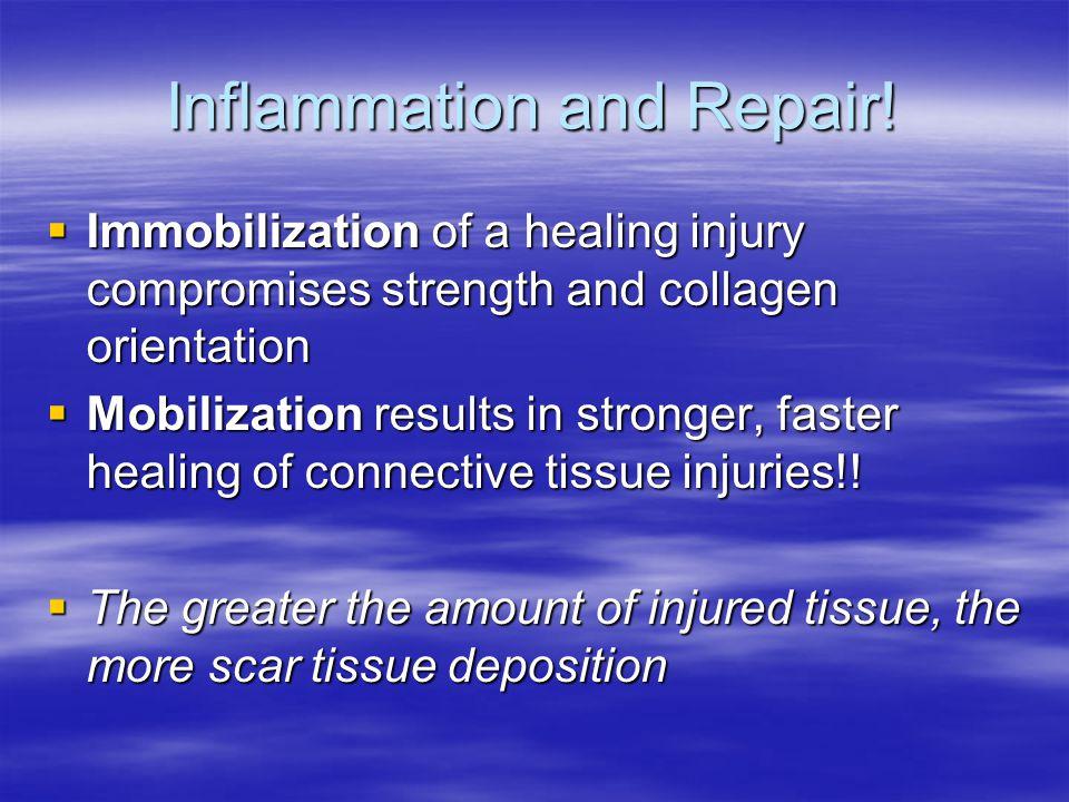 Inflammation and Repair.