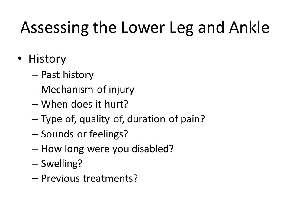 Medial Tibial Stress Syndrome (Shin Splints) – Etiology Pain in anterior portion of shin Catch all for stress fractures, muscle strains, chronic anterior compartment syndrome Accounts for 10-15% of all running injuries, 60% of leg pain in athletes Caused by repetitive microtrauma Weak muscles, improper footwear, training errors, varus foot, tight heel cord, hypermobile or pronated feet and even forefoot supination can contribute to MTSS May also involve, stress fractures or exertional compartment syndrome