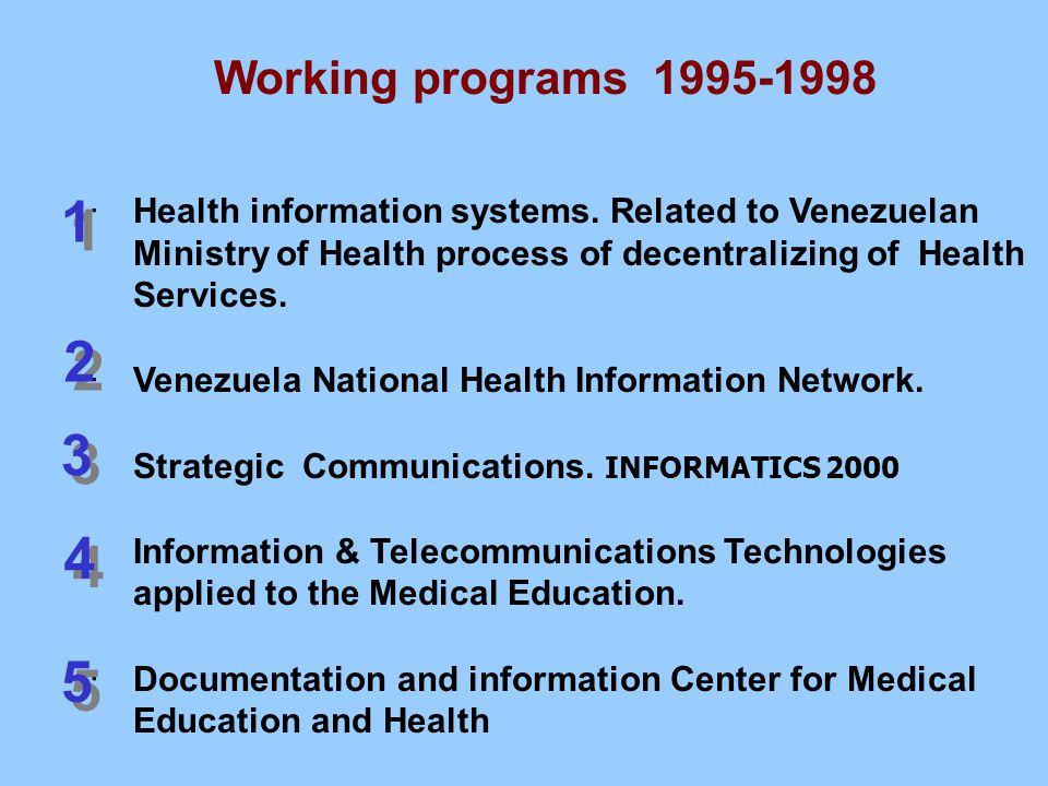 ·Health information systems.