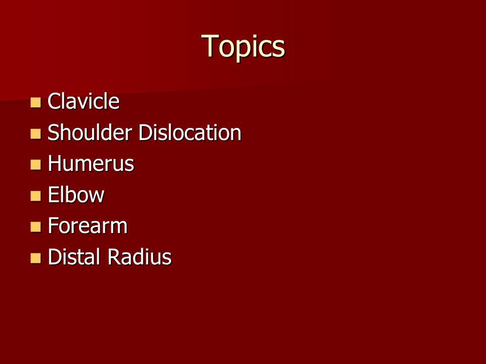 Distal humerus fractures