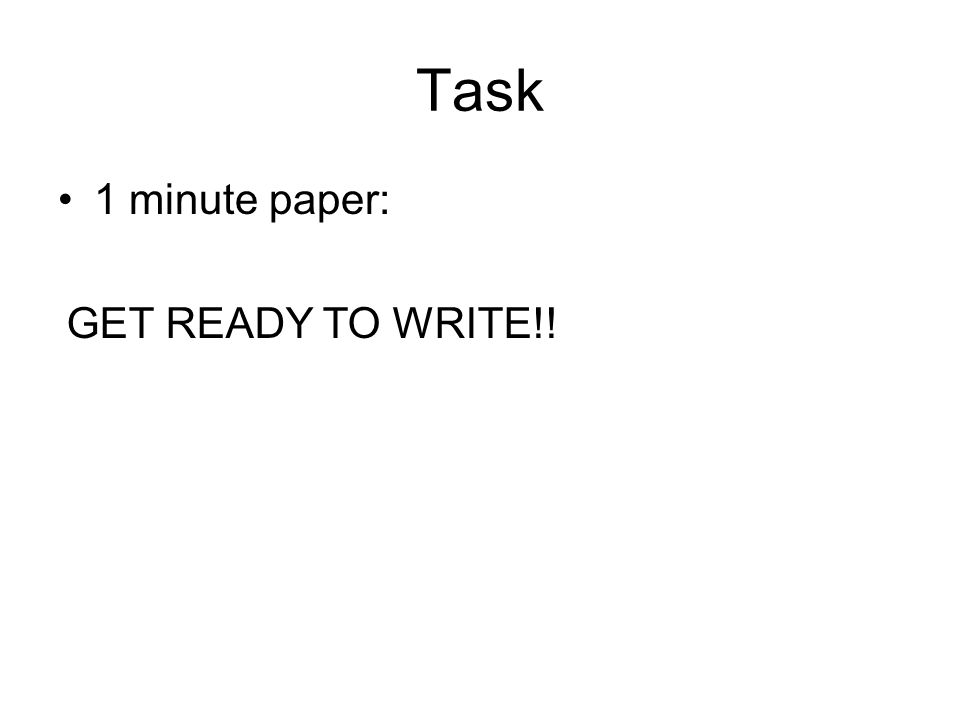 Task 1 minute paper: What are the purposes of the skeleton? GET READY TO WRITE!!