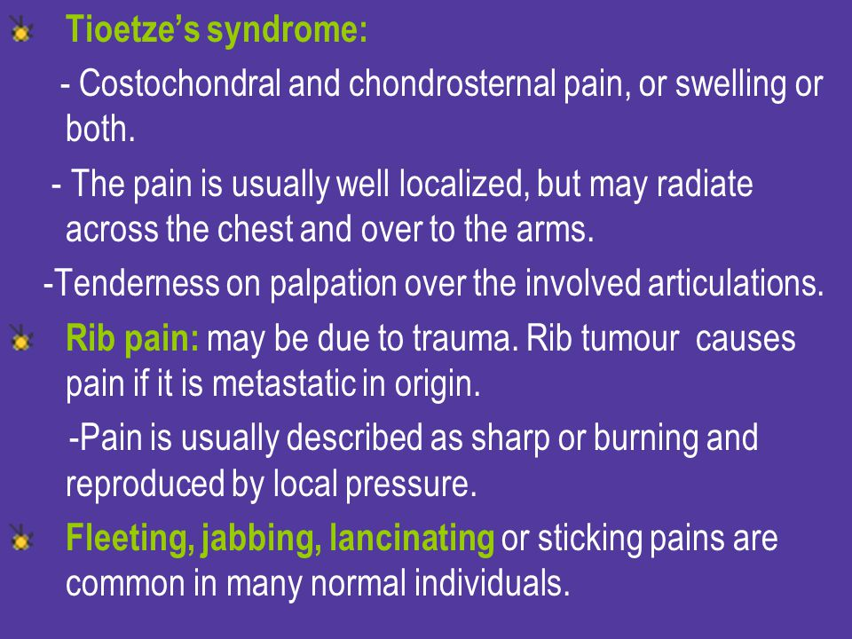 Paroxysmal Nocturnal dyspnea (PND).