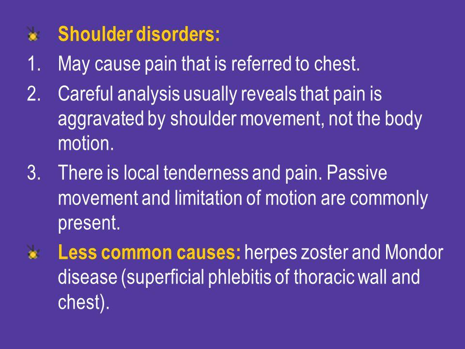 Chronic disease as: Chronic obstructive lung disease.
