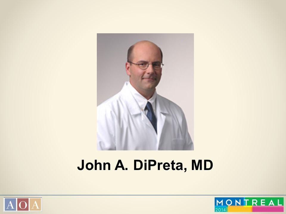 John A. DiPreta, MD