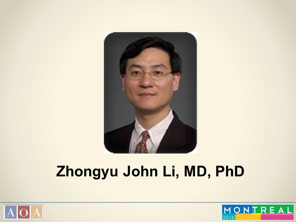 Zhongyu John Li, MD, PhD