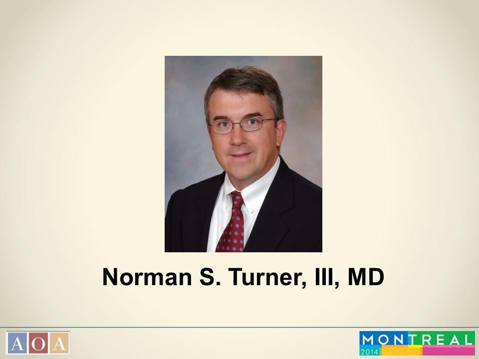 Norman S. Turner, III, MD